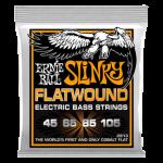 Hybrid Slinky Flatwound Bass 45-105